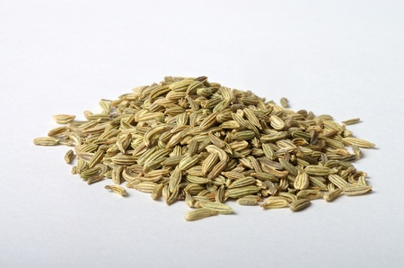 fennel seed: Tablespoon of Fennel Seed Stock Photo