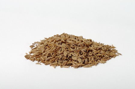 caraway: Tablespoon of Caraway Seed Stock Photo