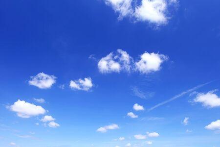 bright: Cloud in blue sky