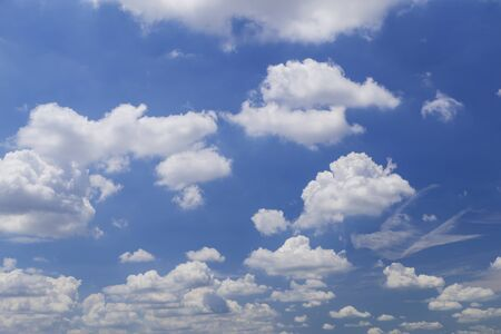 expansive: cloud in blue sky