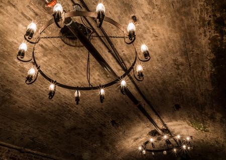 lighting fixtures in brotherhood winery