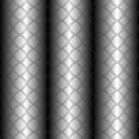 metal pipes: Pattern grid on metal pipes background
