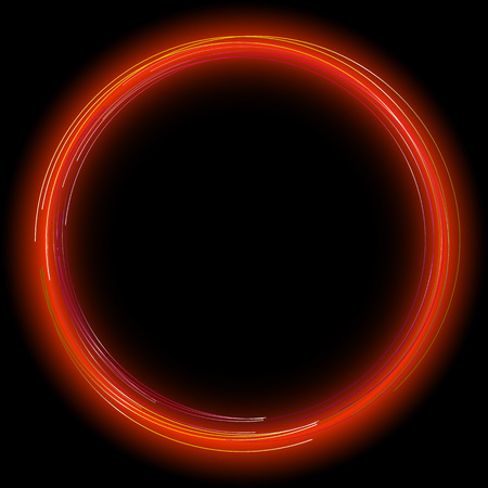 abstract music background: Glowing frame.