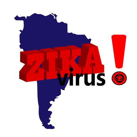 infection prevention: Zika virus.  Zika virus background. Vector illustration EPS 10