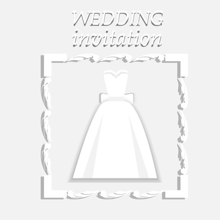 wedding: Wedding invitation. Wedding card.
