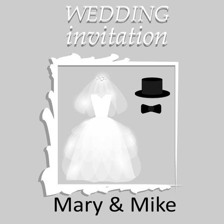wedding: Wedding invitation. Wedding card.