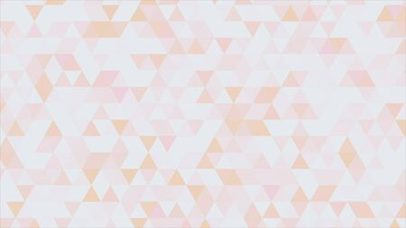 vj: Abstract triangles background.