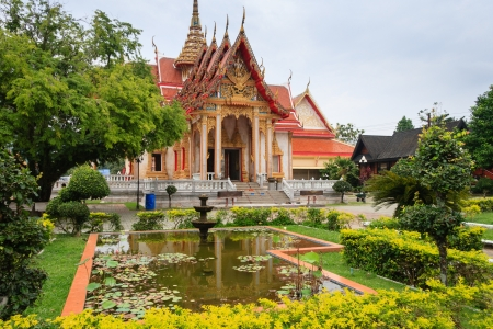 chalong: Wat Chalong temple In Phuket, Thailand