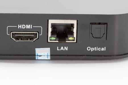 hub computer: USB LAN HDMI Interface of receiver box