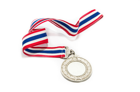 silver medal: Silver Medal Isolated
