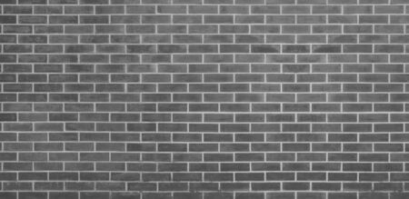 Brick wall, Gray bricks wall texture background for graphic design Imagens