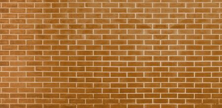 Brick wall, Brown bricks wall texture background for graphic design Imagens