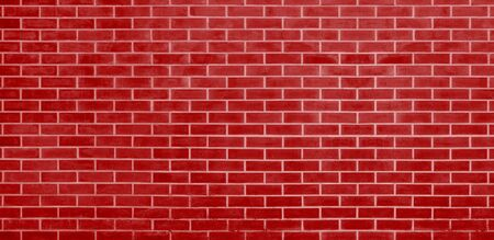 Brick wall, Rad bricks wall texture background for graphic design Imagens