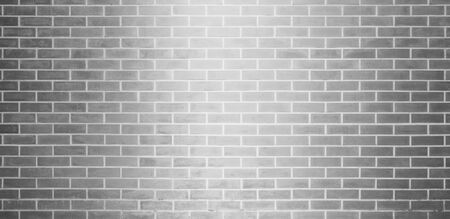 Brick wall, Gray white bricks wall texture background for graphic design