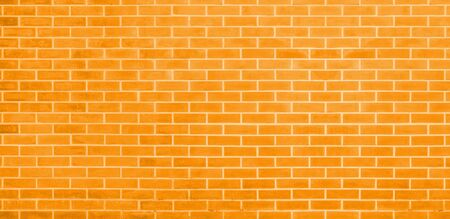 Brick wall, Yellow bricks wall texture background for graphic design