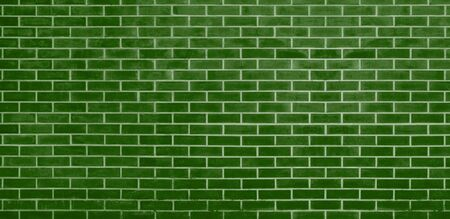Brick wall, Green bricks wall texture background for graphic design