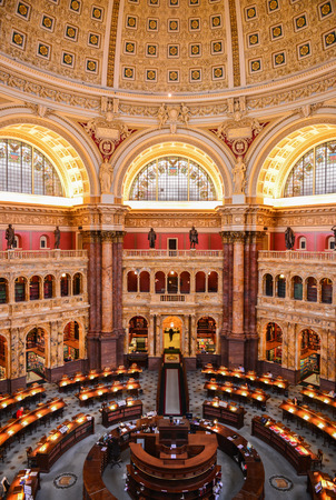 The Library of Congress,  the nation's oldest federal cultural institution and the largest library with thousand of books, is the world's preeminent reservoir of knowledge