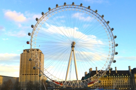 The full wheel - London Eye