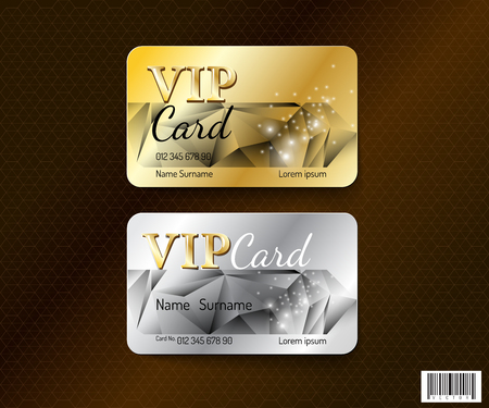 VIP card symbol design. luxury concept. vector file