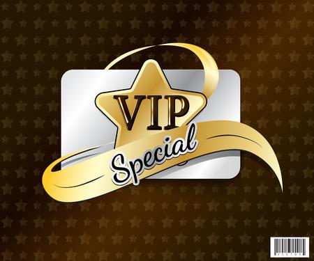 privilege: VIP card symbol design. luxury concept. vector file