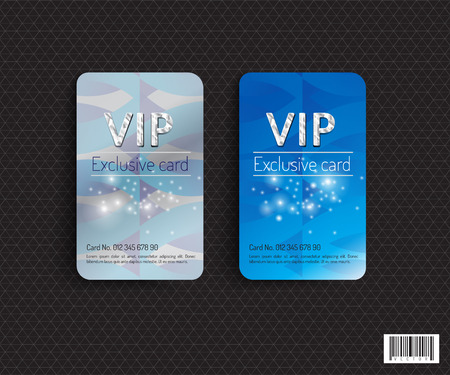 VIP card template design. luxury concept. vector file