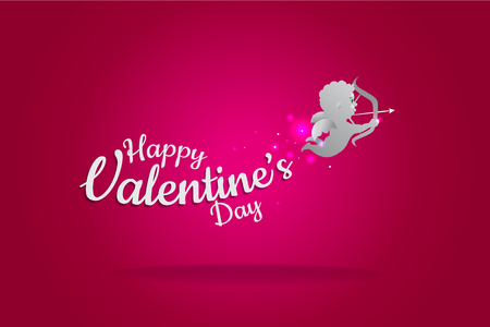 Vector illustration. Valentines day symbol. suitable use for general design