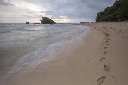 Scenic view of beach in Bali, Indonesia