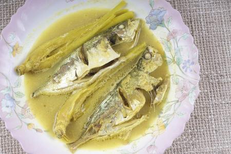 bonne: Yellow curry fish