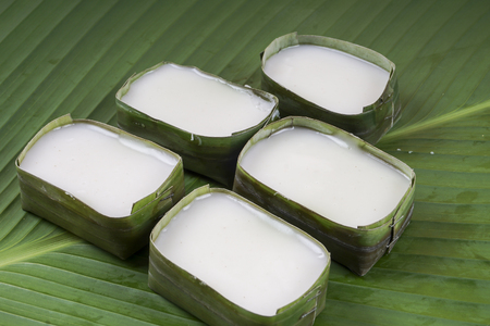 Malaysia popular assorted sweet dessert or simply known as kueh or kuih; tepung pelita Stock Photo