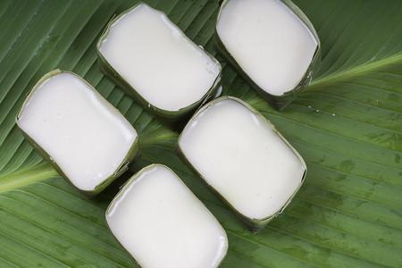 Malaysia popular assorted sweet dessert or simply known as kueh or kuih; tepung pelita Stock Photo