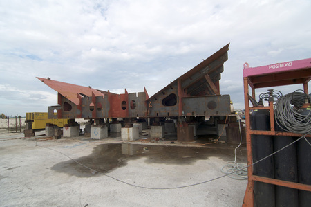 shipbuilder: Port Klang, 20 July 2014: Shipbuilding construction in Malaysia