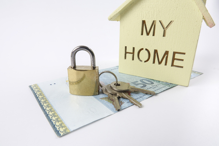 Housing loan concept. Stock Photo