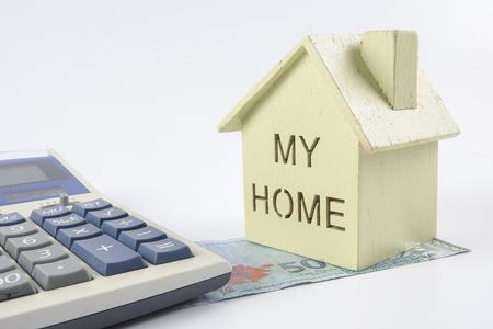 住宅ローンの概念。 写真素材
