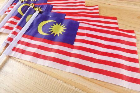 flag of Malaysia Stock Photo
