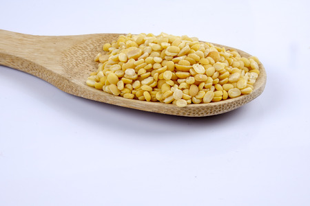 Toor dal, famous Indian legume also called yellow Pigeon peas