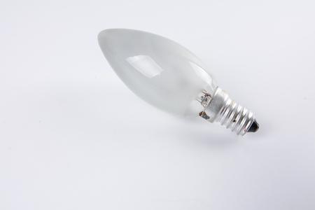Bulb isolated on white background. Stock Photo
