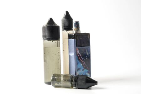 Vaping device isolated on white.