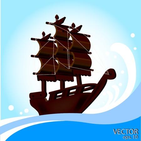 sailling: Sailling ship