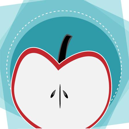 Apple background advertising