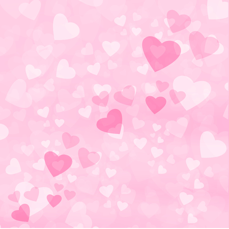 abstract background graphic color vector love heart valentines day idea design Vektorové ilustrace