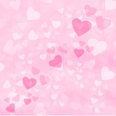 fondo abstracto gráfico color vector amor corazón día de san valentín idea diseño Ilustración de vector