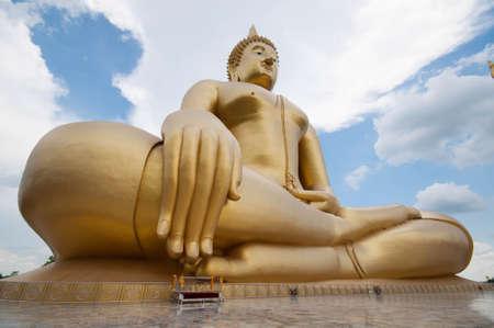 gloden: Gloden buddha wat muang, Ang thong Thailand