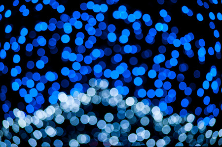 abstract blue bokeh background photo