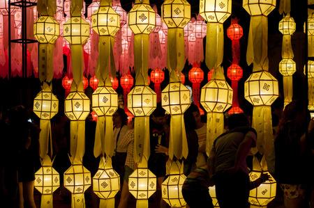 noun: noun,lamp,Loy Kratong festival