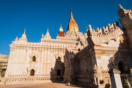 bagan: Ananda Temple , Bagan, Myanmar,Burmar
