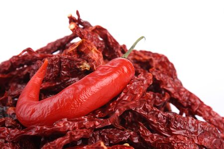 Dried Red Chili and Red Chili