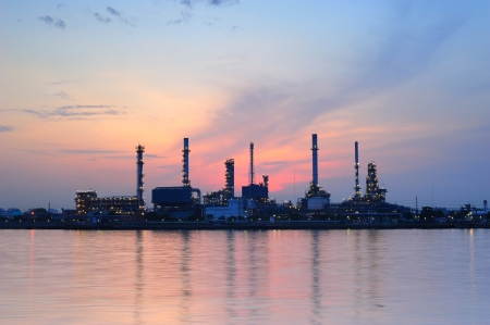 oil refinery Stockfoto