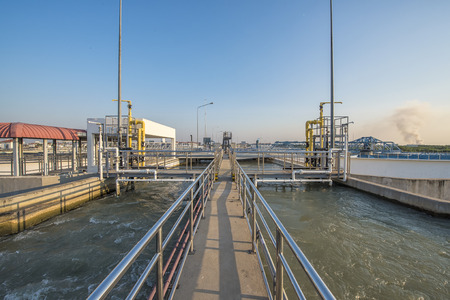 recycled water: Intake water with Chemical addition process in Water Treatment Plant