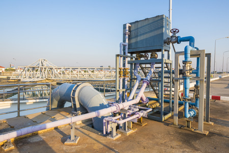 greywater: Chemical addition process in Water Treatment Plant