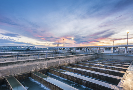 treatment plant: Backwash Process in Water Treatment Plant